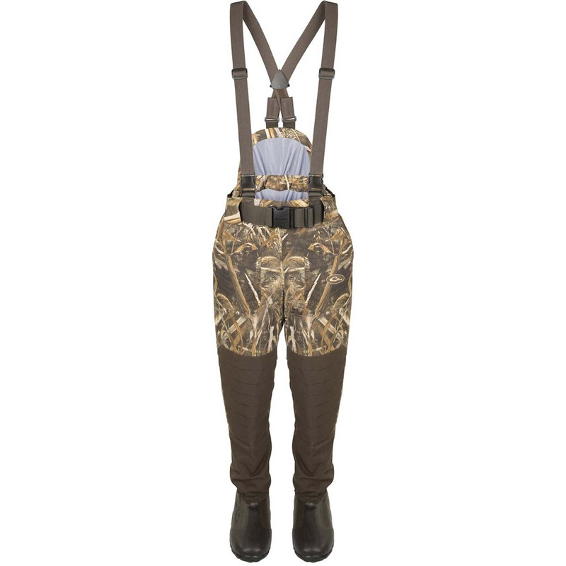 Drake Guardian Elite Insulated Breathable Waist High Wader - Short & Slim in Realtree Max 5 Color