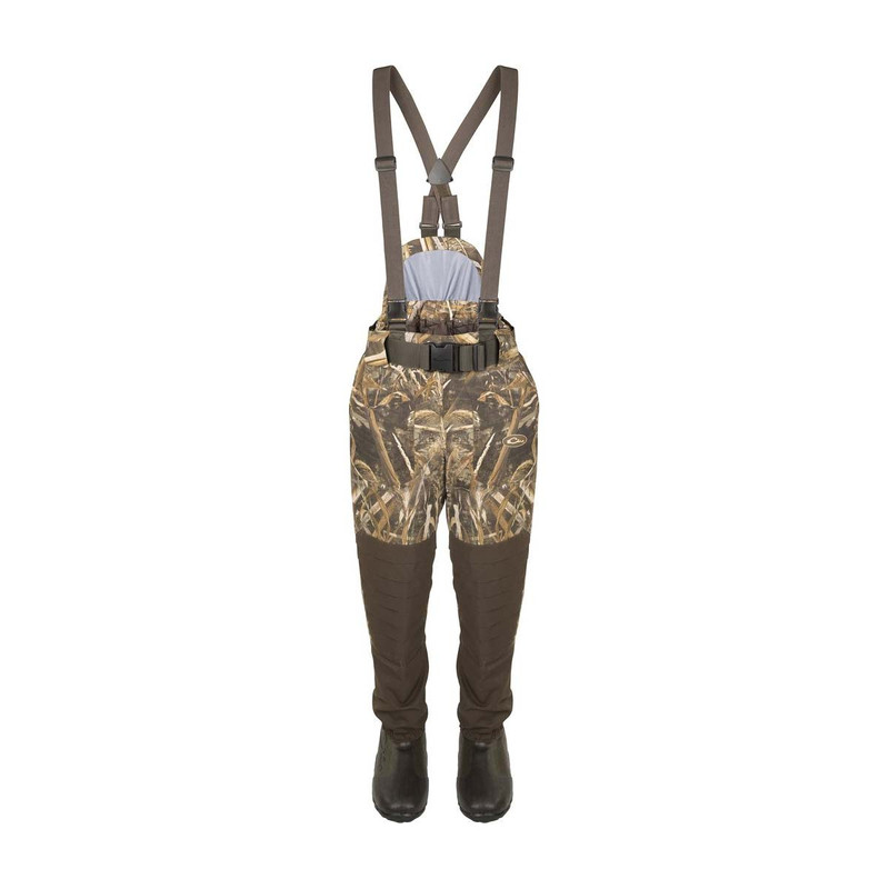 Drake Guardian Elite Insulated Breathable Waist High Wader - Stout in Realtree Max 5 Color
