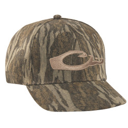 Drake Waterfowl Camo Flat Bill Logo Cap
