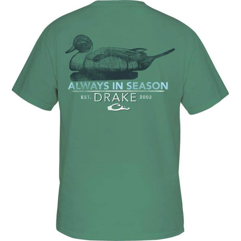 Drake decoy short sleeve tee for Drake fishing shirts