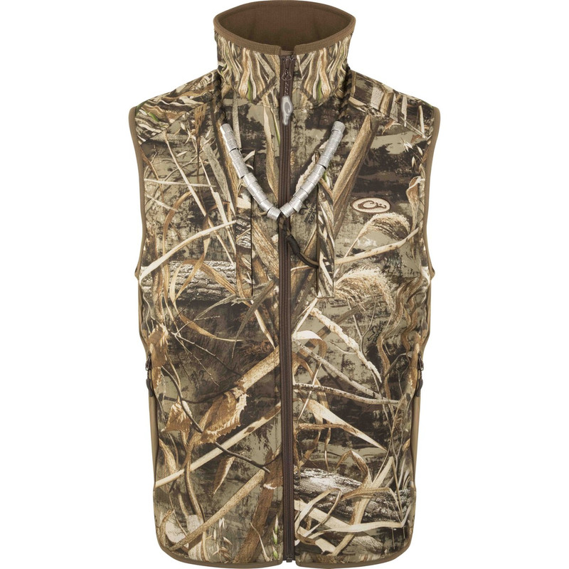 Drake EST Windproof Tech Vest in Realtree Max 5 Color