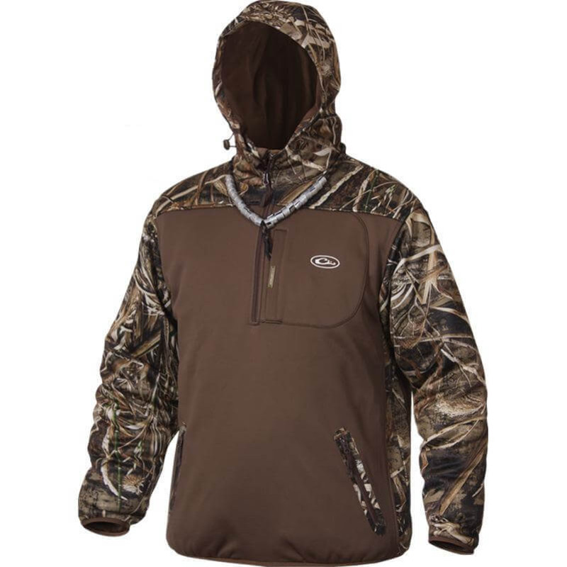 Drake MST Endurance Soft Shell Hoodie in Realtree Max 5 Color