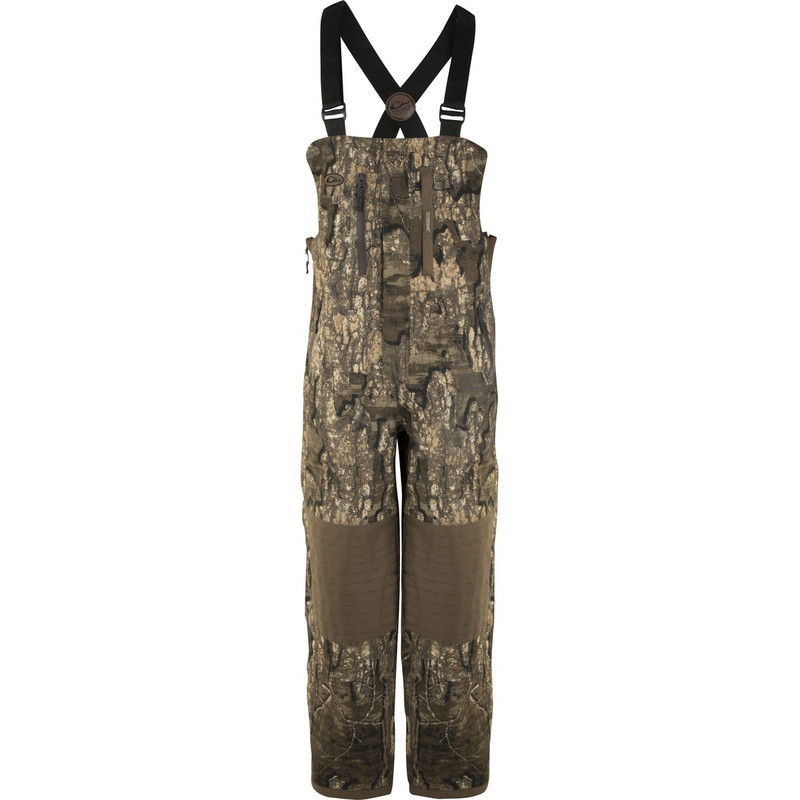 Drake Guardian Elite Bib Insulated in Mossy Oak Blades Habitat Color
