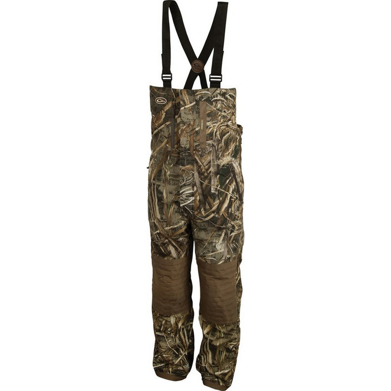 Drake Guardian Elite Bib Insulated in Realtree Max 5 Color