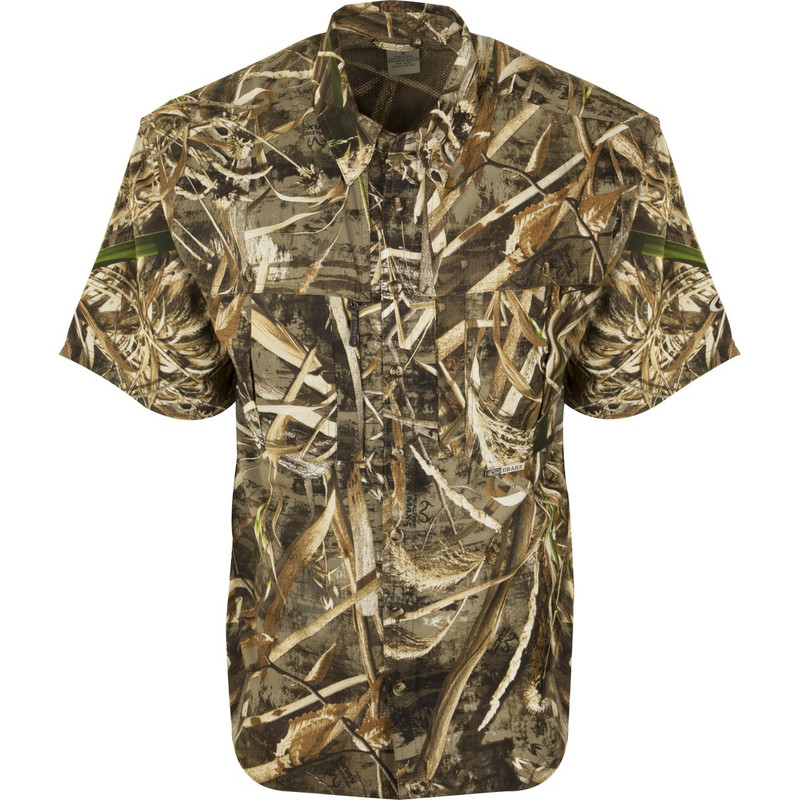 Drake EST Flyweight Wingshooter Short Sleeve in Realtree Max 5 Color