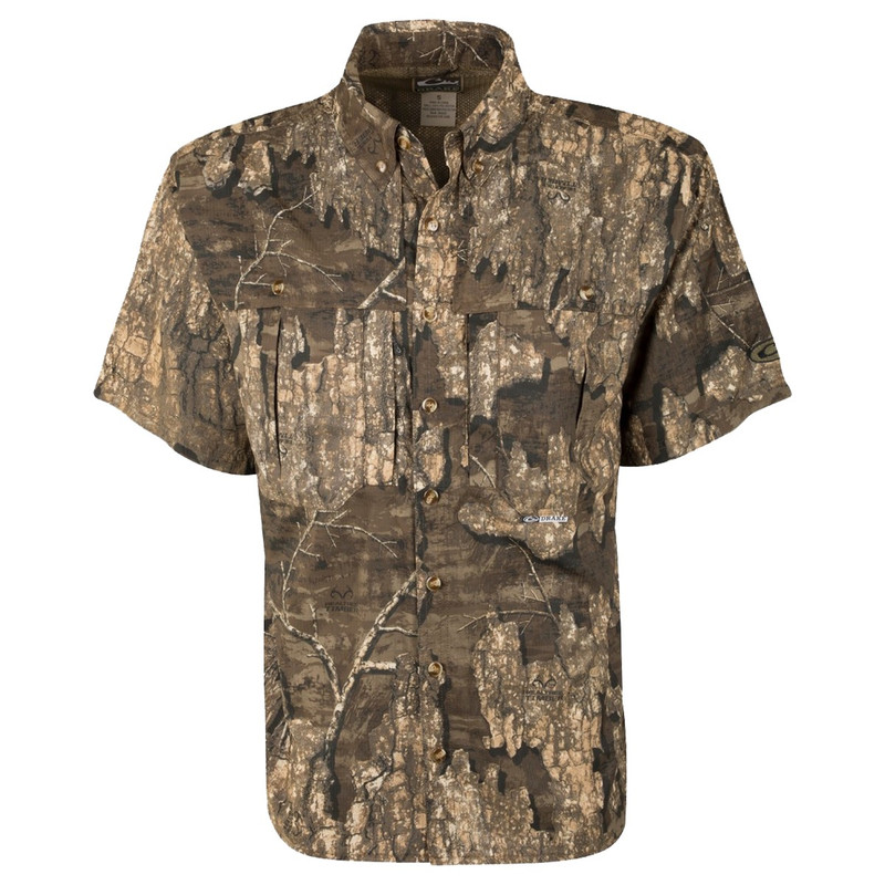 Drake EST Flyweight Wingshooter Short Sleeve in Realtree Timber Color