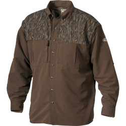 Drake Youth Two-Tone Vented Wingshooter Long Sleeve