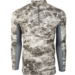 Drake Shield 4 Arched Mesh Back 1/4 Zip Fishing Shirt