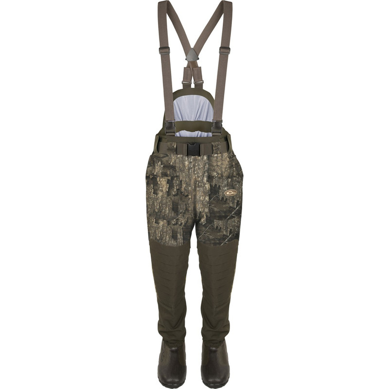Drake Guardian Elite 6 Layer 4-In-1 Waist High Wader With Tear Away Insulated Liner in Realtree Timber Color