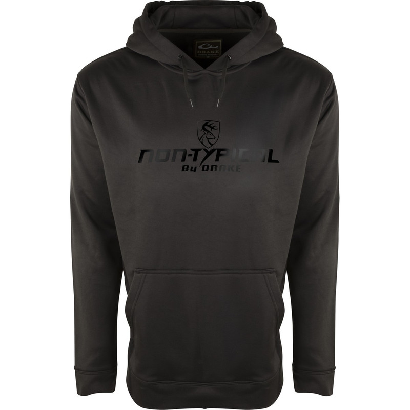 Drake Midweight Blackout Performance Hoodie With Agion Active XL in Black Color