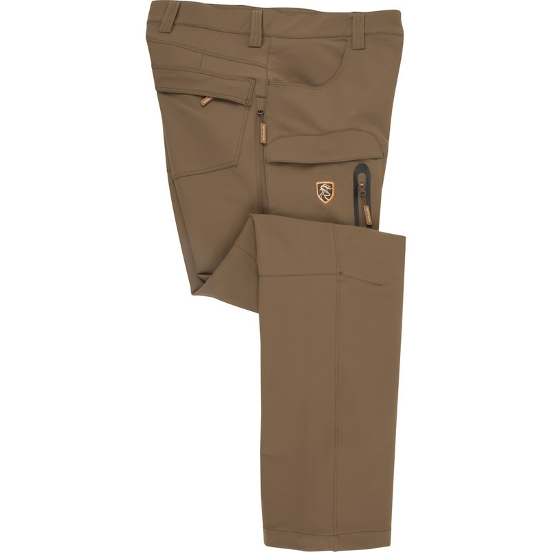 Drake Non-Typical Pursuit Tech Stretch Pant With Agion Active XL in Dark Earth Color