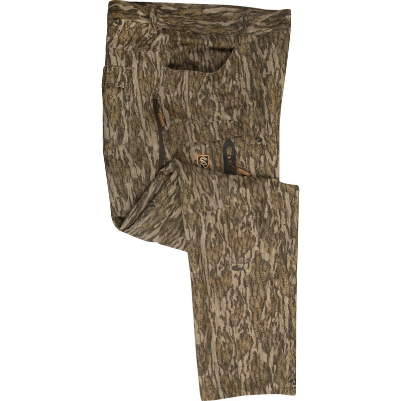 Drake Non-Typical Pursuit Tech Stretch Pant With Agion Active XL in Mossy Oak Bottomland Color