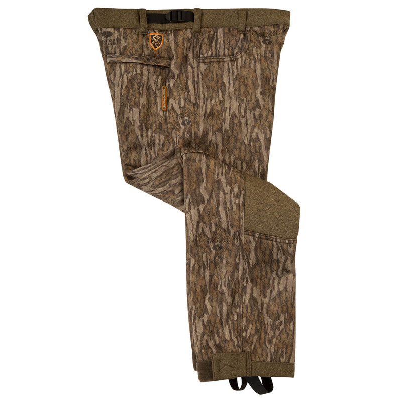Drake Scent Control Non-Typical Youth Silencer Pant With Agion Active XL in Mossy Oak Bottomland Color