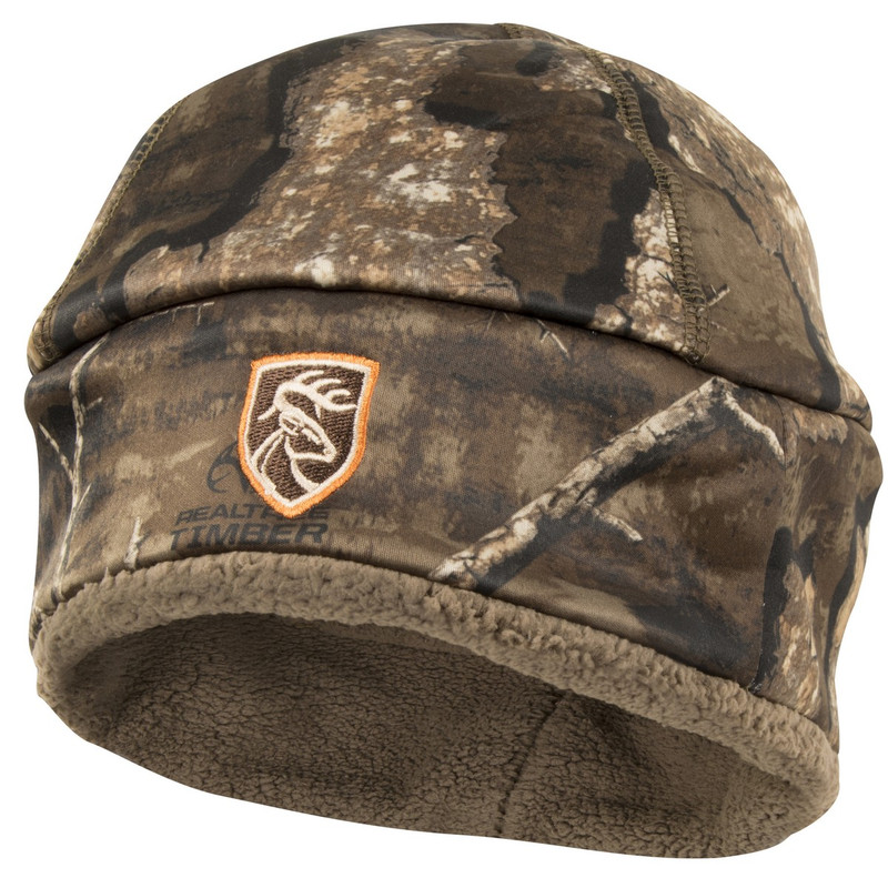Drake Non-Typical Sherpa Silencer Beanie in Realtree Timber Color