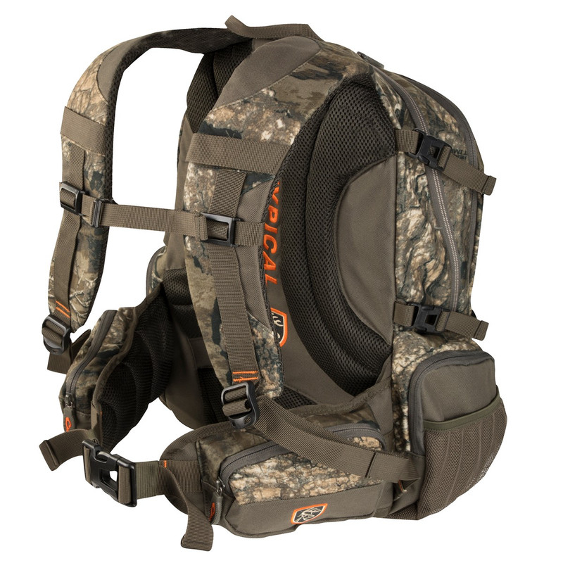 Drake Non-Typical Backpack in Realtree Timber Color