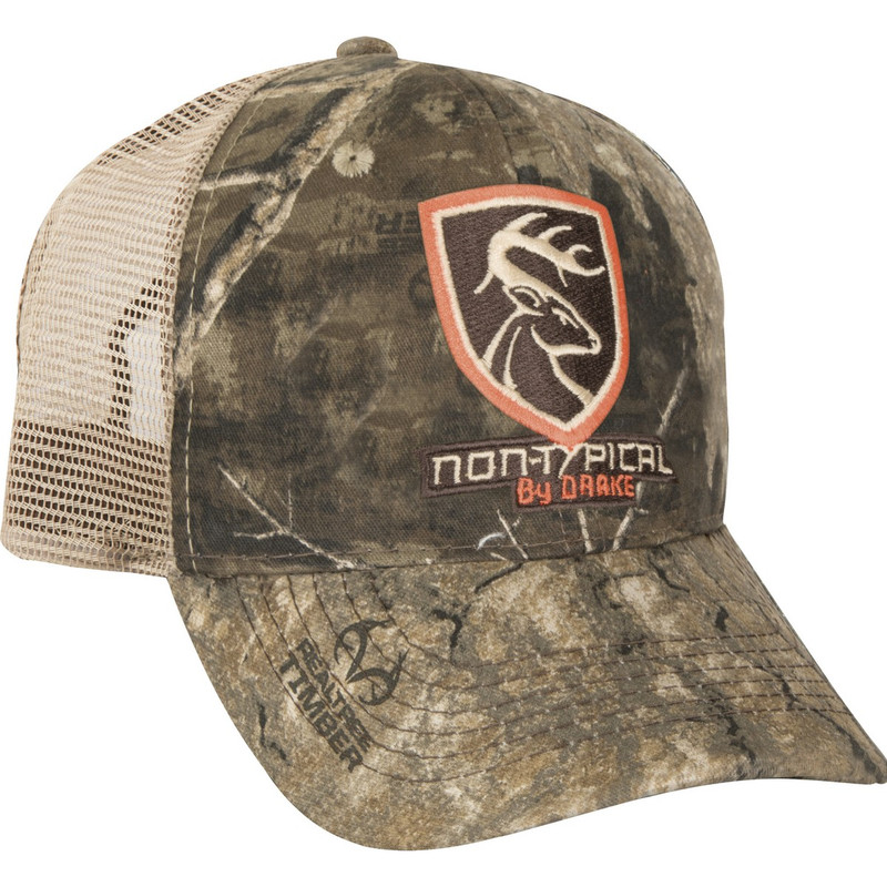 Drake Non-Typical Mesh Back Cap in Realtree Timber Color