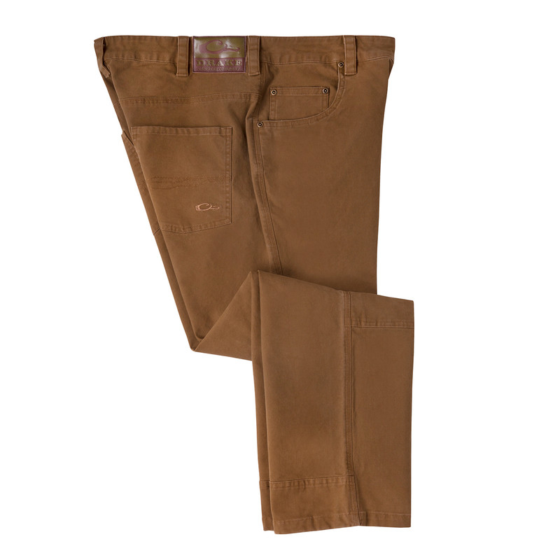 Drake Canvas Pants in Tobacco Color