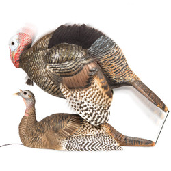 Dave Smith Mating Motion Turkey Decoy Pair