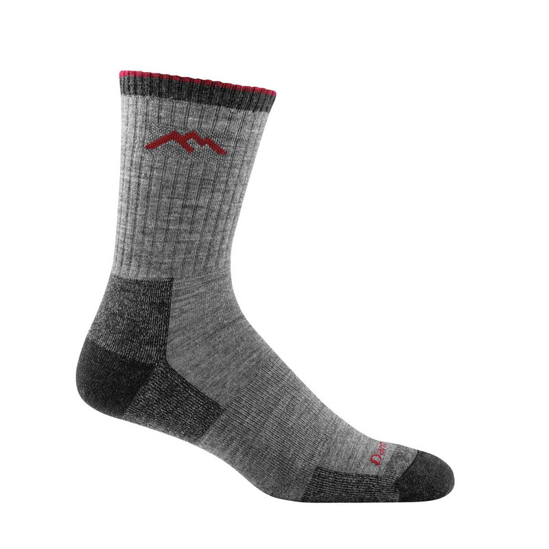 Darn Tough Hiker Micro Crew Cushion Socks in Charcoal Color