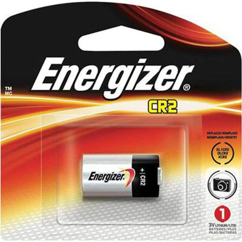 Energizer EL1CR2BP2 Lithium Batteries CR2 - 2 Pack