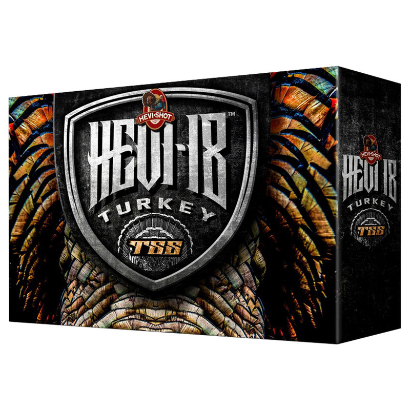"HeviShot Hev-18 TSS Turkey 12 Ga 3"" 2 Oz 5 Rd Box"