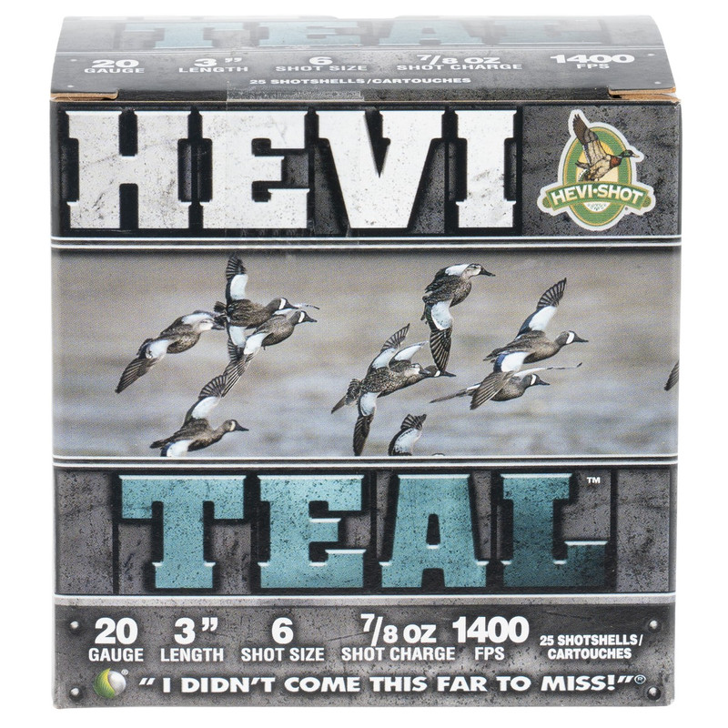 "Hevi Steel 20 Ga 3"" 7/8 Oz Case 250 Rd"