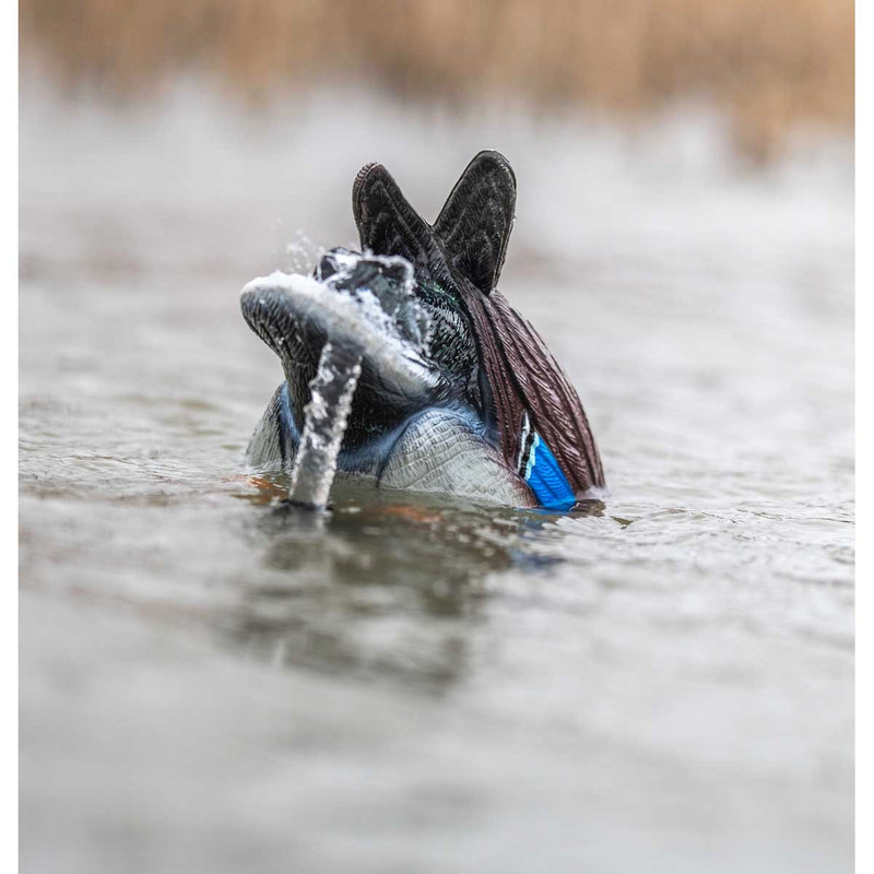 Lucky Duck Agitator HDi Motion Decoy with Rig 'em Right Anchor