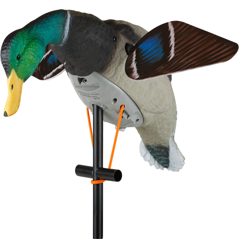 Lucky Duck HD Decoy With 5 Foot Extension Pole