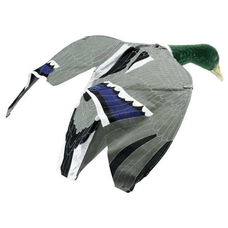 Lucky Duck Goose and Duck Magnet Flag Decoy in Drake Item Style