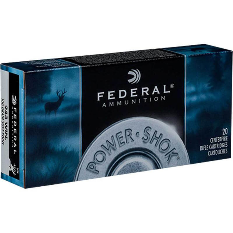 Federal 30 Carbine 110 Grain SP RN 20 Rd