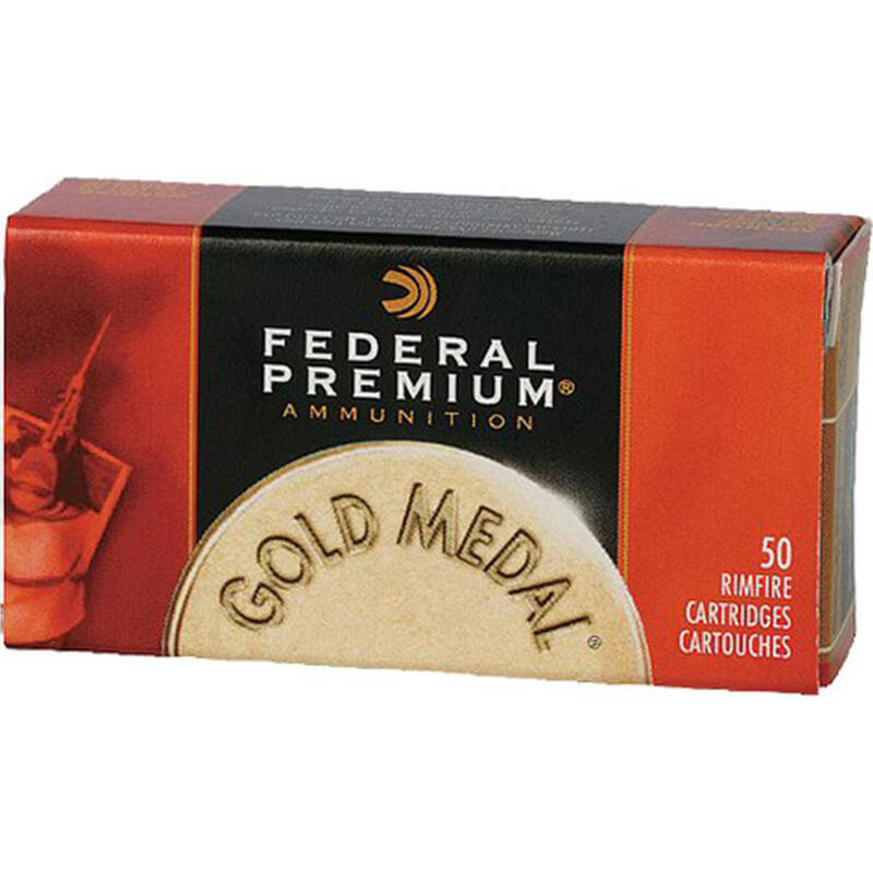Federal Gold Metal 22 LR 40 Grain Solid 50 Rd