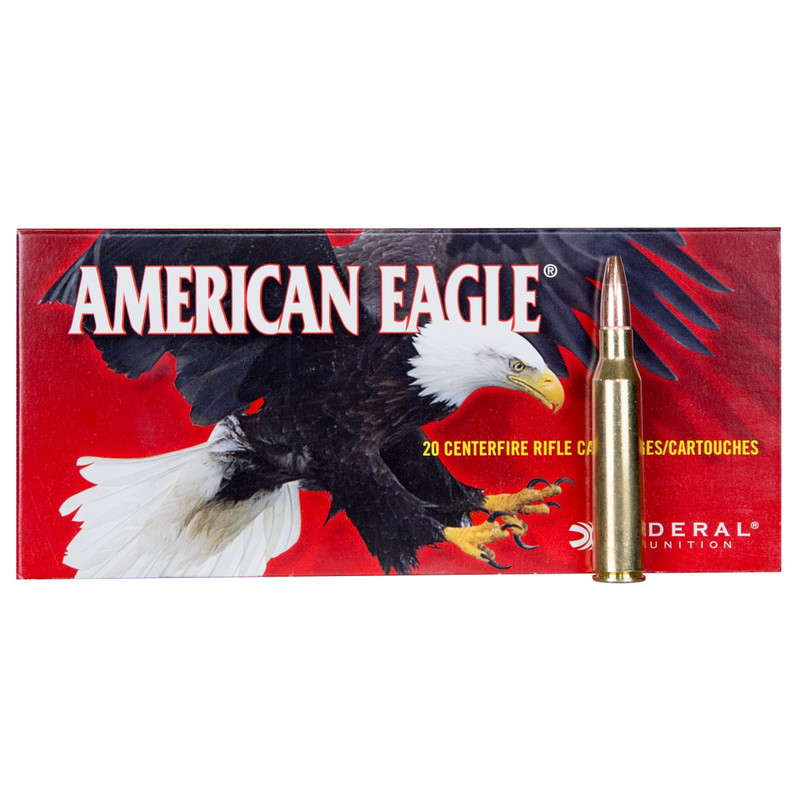 Federal 338 Lapua Mag 250 Grain JSP 20 Rd