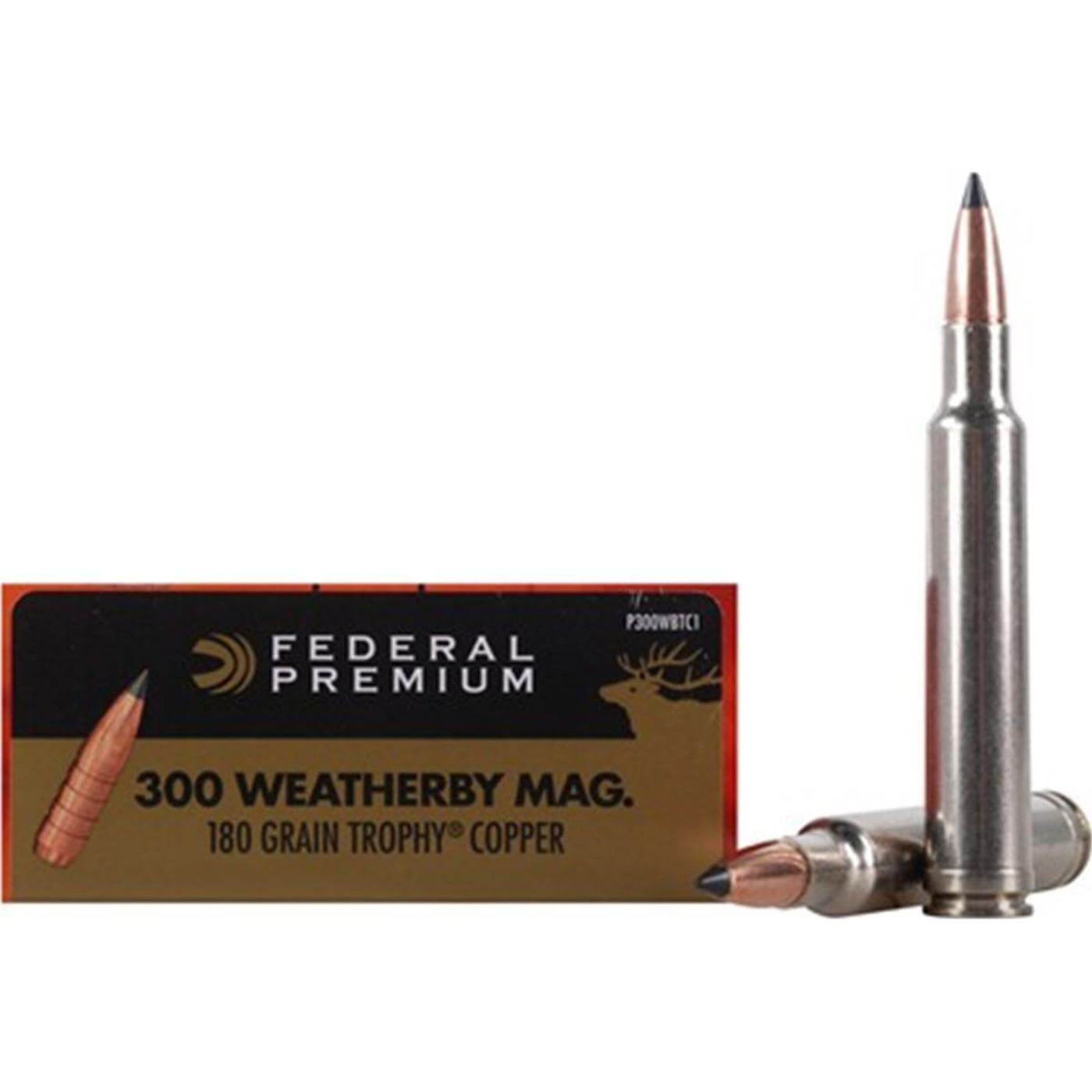 Federal 300 Weatherby Mag 180 Grain TC 20 Rd