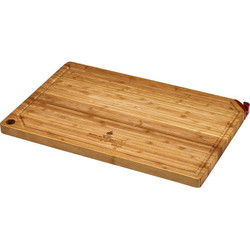 FireDisc Bamboo Cutting Board w/ Knife Sharpener
