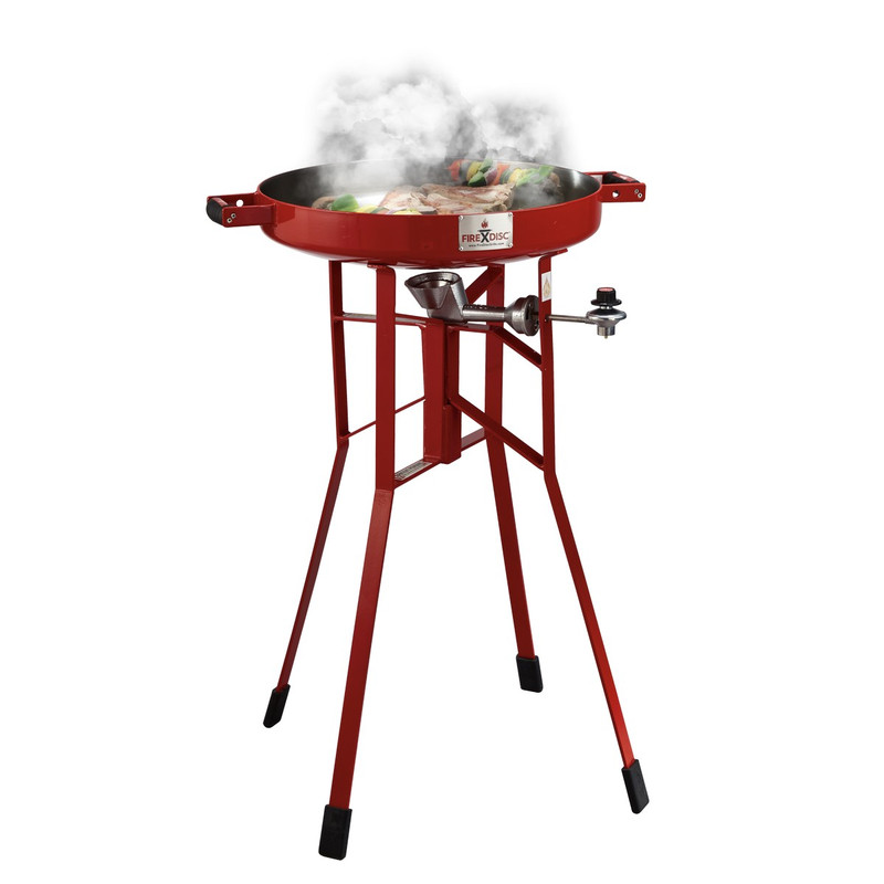 "FireDisc 36"" Deep Cooker in Red Color"