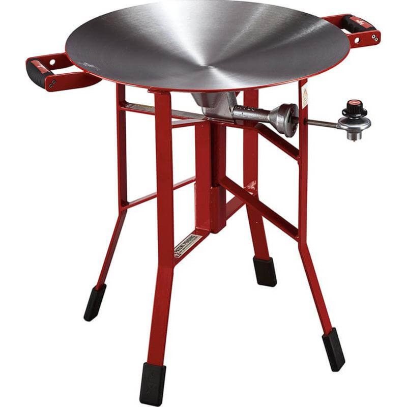 "FireDisc 24"" Shallow Cooker in Red Color"