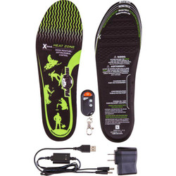 3.7V Rechargeable Heated Insoles with Remote Kit