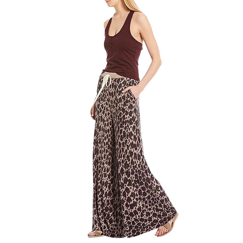 Free People Cheet Day Pant in Stone Combo Color