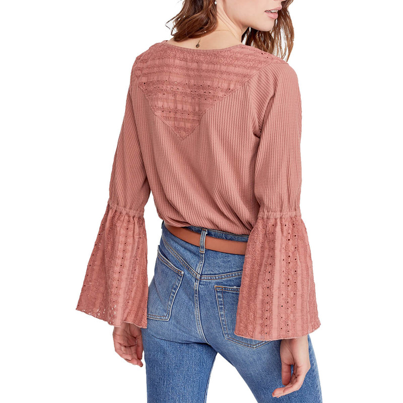 Free People Parisian Nights in Rose Color