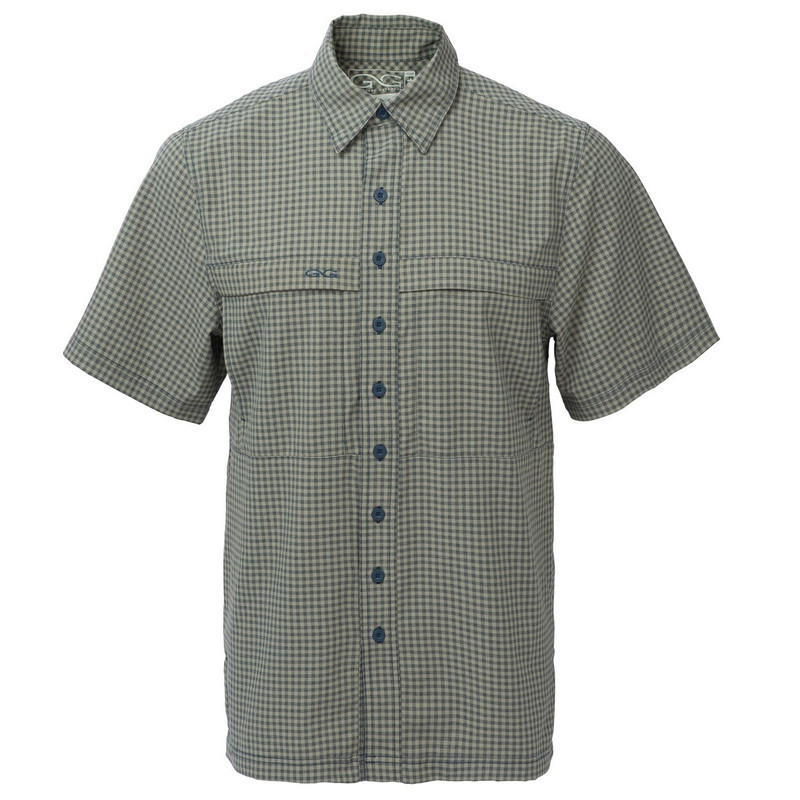 GameGuard TekCheck Short Sleeve Shirt in Mesquite Color