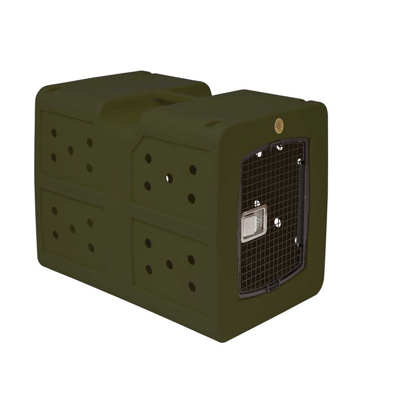 Dakota 283 G3 Framed Door Kennel in Olive Color