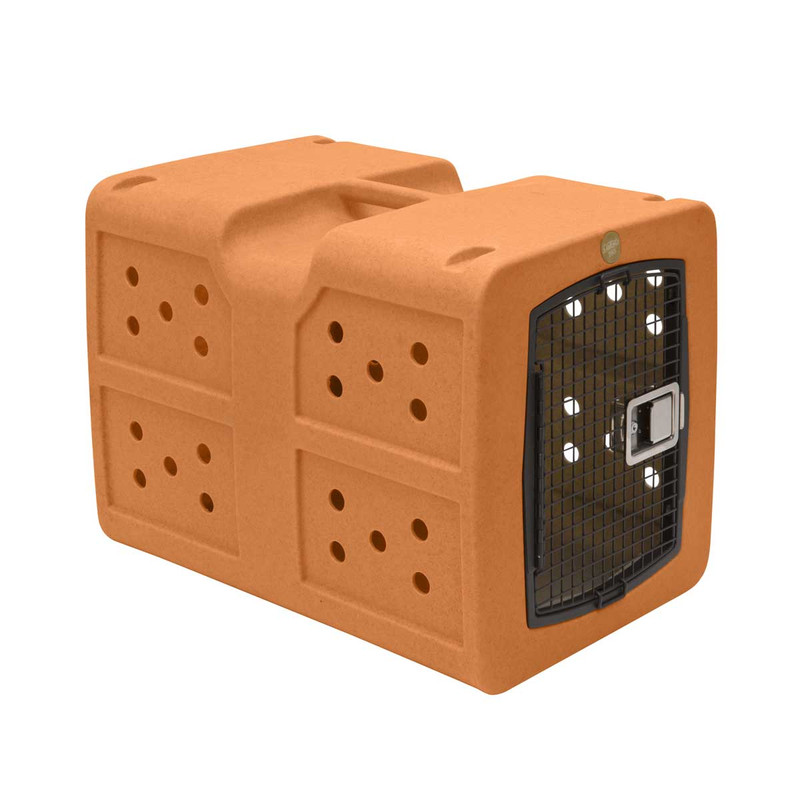 Dakota 283 G3 Framed Door Kennel in Orange Color