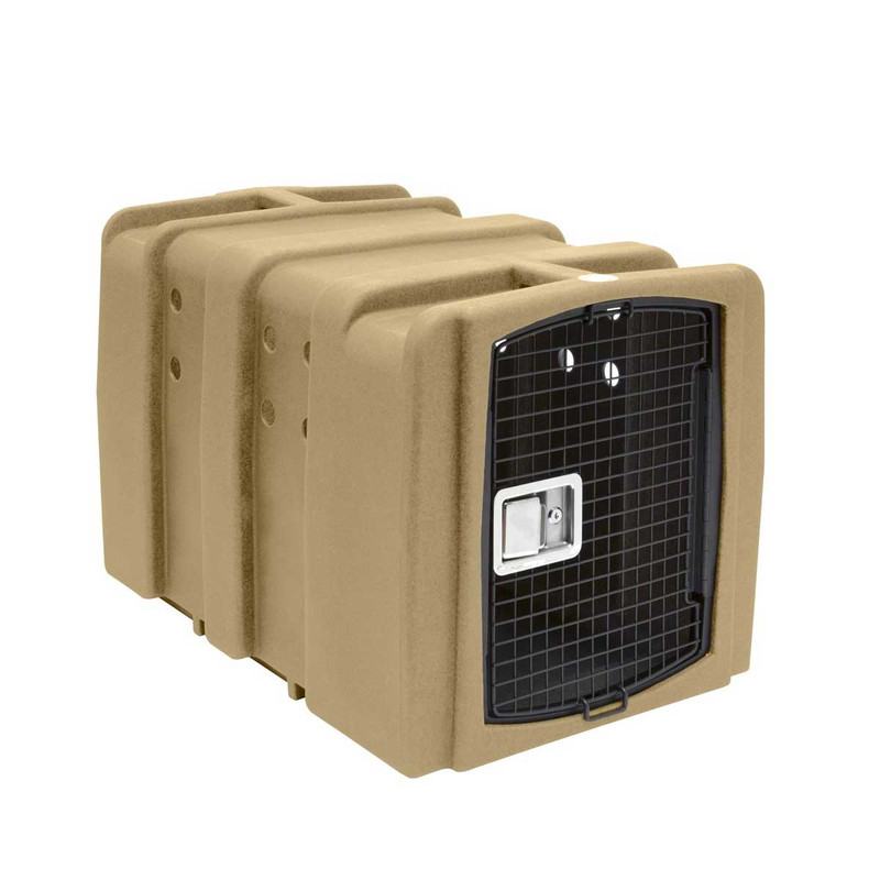 Dakota 283 Kennebec Dog Kennel in Desert Sand Color