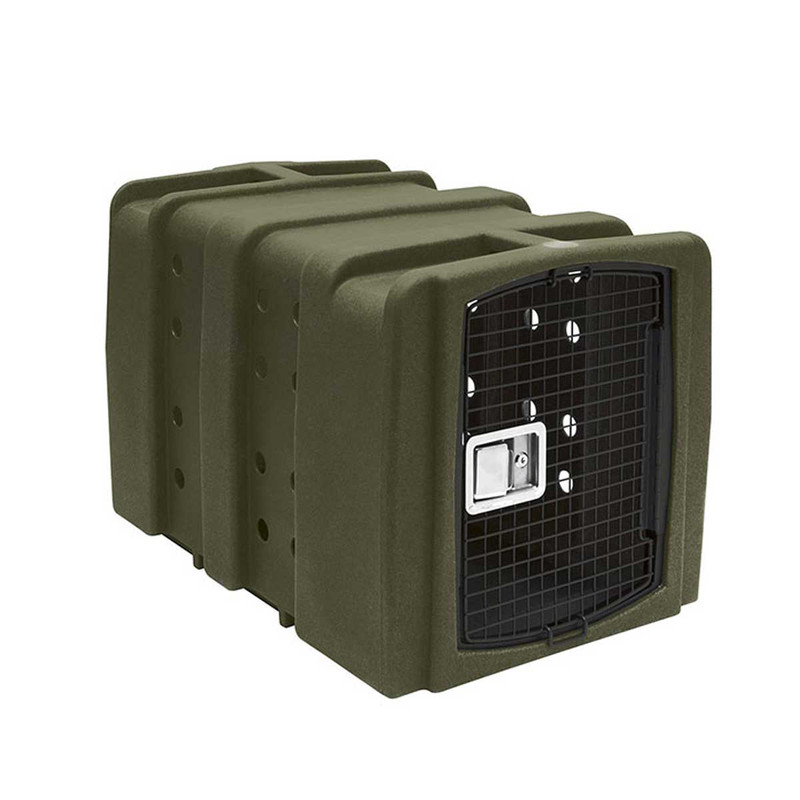 Dakota 283 Kennebec Dog Kennel in Olive Color