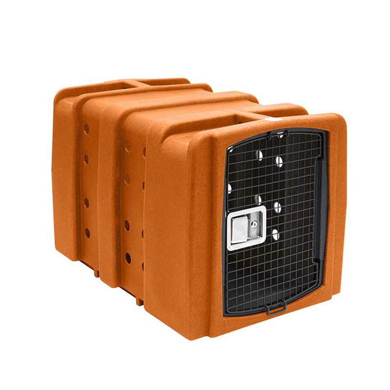Dakota 283 Kennebec Dog Kennel in Orange Color