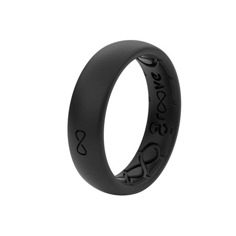 Groove Thin Silicone Ring - Solid Colors