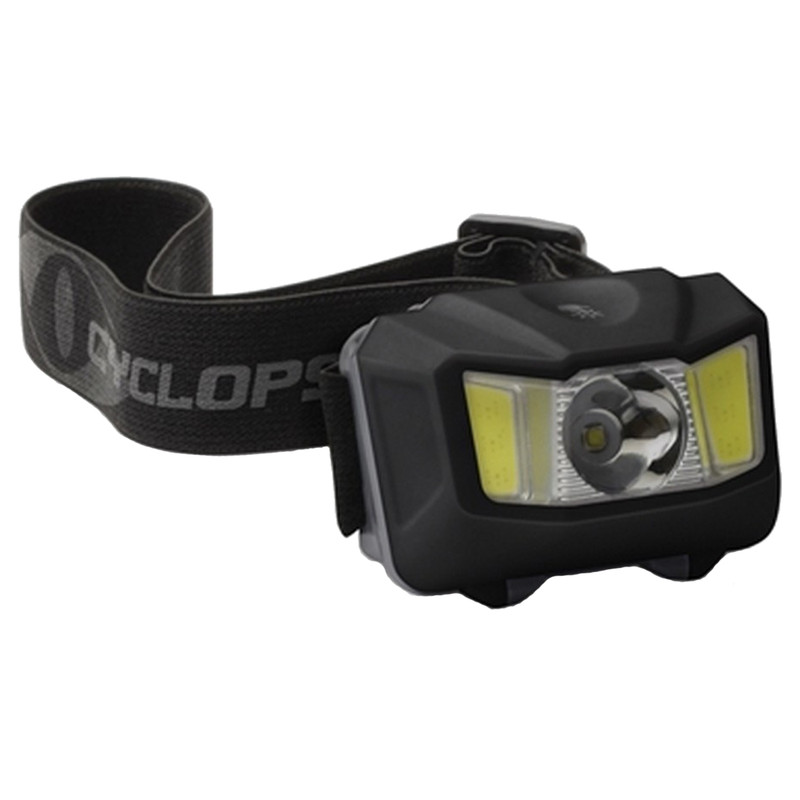 Cyclops 250 lumen Headlamp w/ Green COB LED