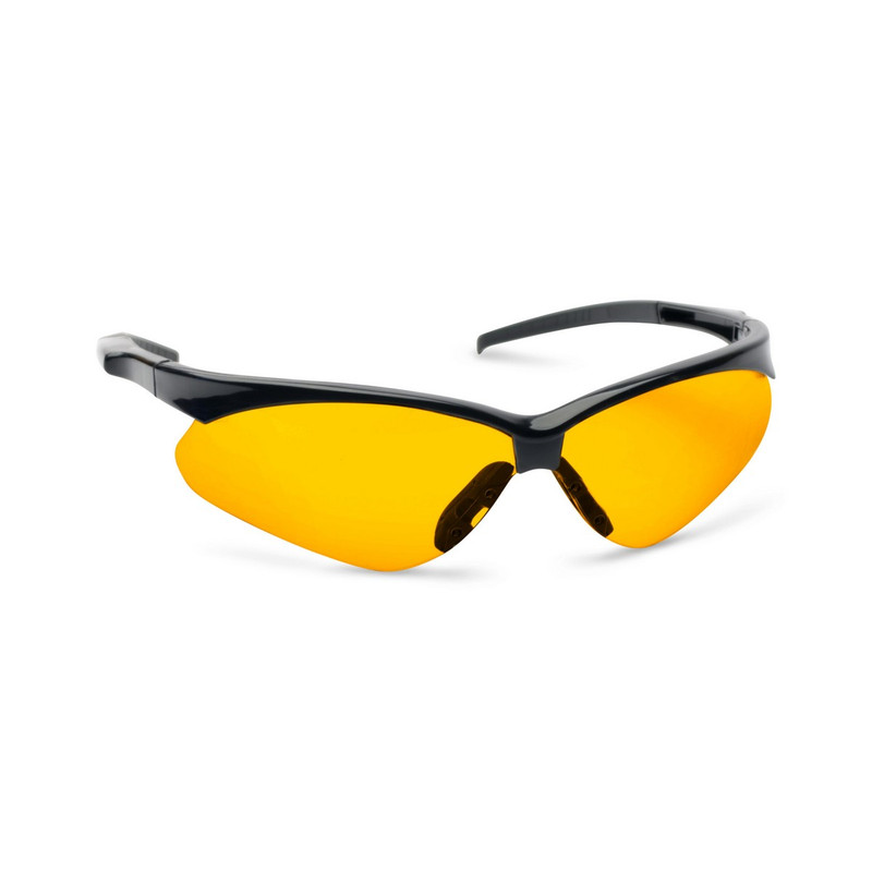 Walker's Crosshair Sport Shooting Glasses- Amber