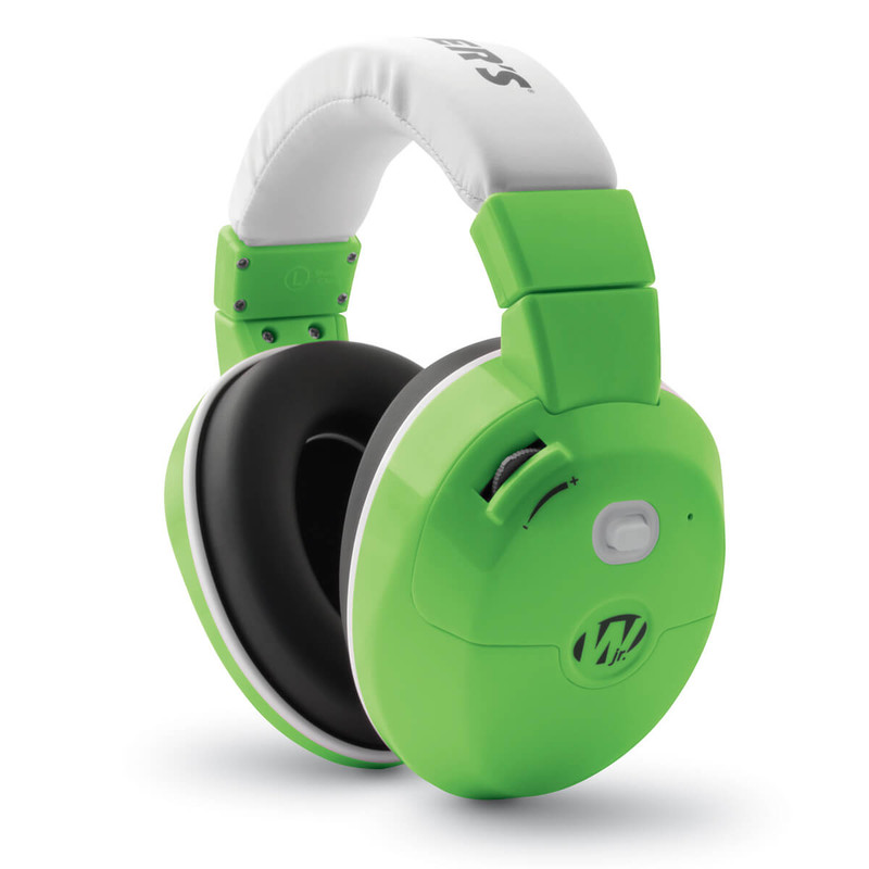 Walker's Game Ear Youth Active Muff Green