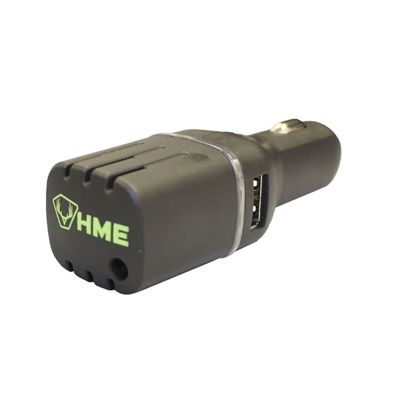 GSM Outdoors DC Car Scent Eliminator w/ Dual USB